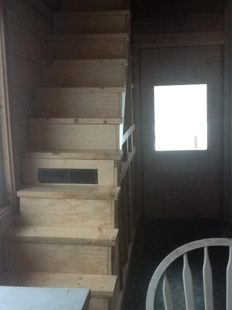 Our new stairs